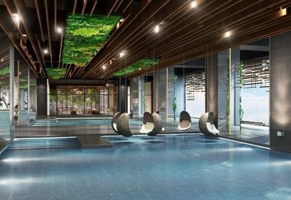 Bể bơi 4 mùa chuẩn Olympic của Sun Grand City Thuy Khue Residence 1