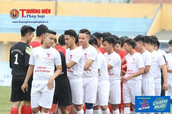 giải bóng đá học sinh Hà Nội