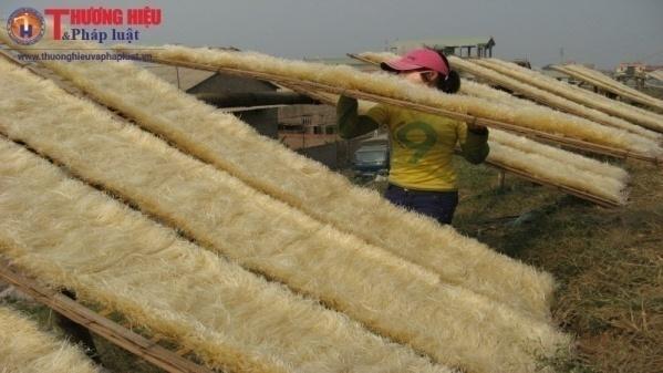 làng nghề sản xuất miến Dương Liễu