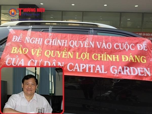 Sai pham Chung cư Capital Garden