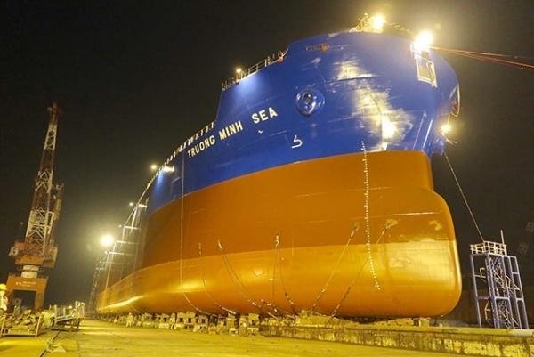 hạ thủy tàu Trường Minh Sea, tàu hàng 56.200 tấn