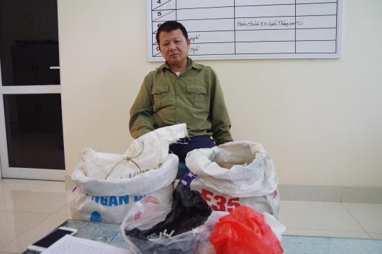 vận chuyển vật liệu nổ, Quảng Ninh