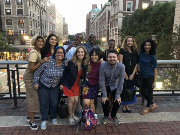 Nhóm Columbia thăm trường lần đầu tiên