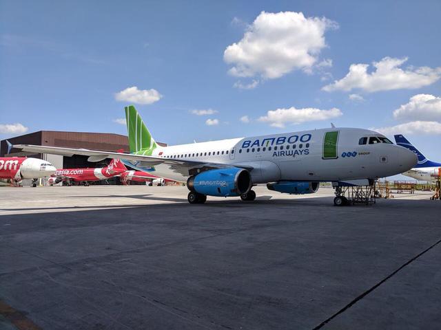 Hé lộ những hình ảnh đầu tiên của máy bay Bamboo Airways - Ảnh 5.
