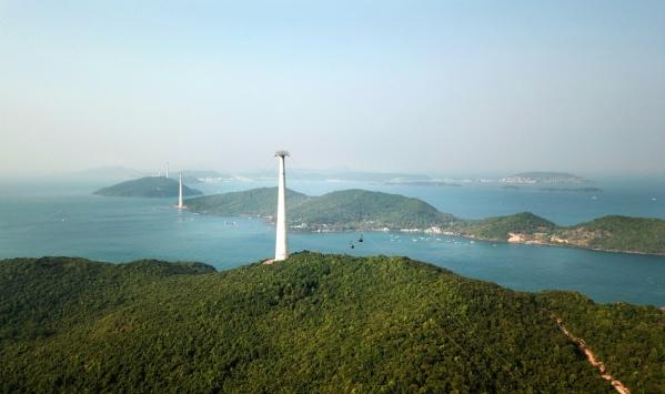 Cáp treo Hòn Thơm dài nhất thế giới hút khách về đảo Ngọc-4