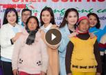 'Chén cơm nóng, ấm lòng vùng cao' sẻ chia tình thương tới 250 hộ nghèo tỉnh Hòa Bình