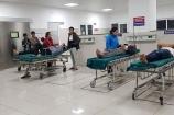 Hàng loạt người nhập viện trong đêm 30 Tết do pháo