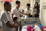 Quỹ Đồng hành cùng số phận trợ giúp bé gái đáng thương bị ung thư