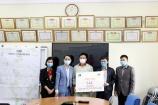 Trao tặng 100 thùng nước giặt Jana, Petrolimex đến cư dân cách ly dịch Covit-19 tại thôn Hạ Lôi