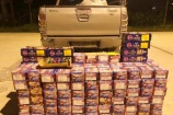 Nghệ An: Bắt vụ vận chuyển gần 350 kg pháo