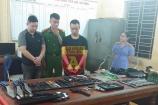 Hà Nội: Triệt xóa 'đại lý' chuyên bán vũ khí, công cụ hỗ trợ trên mạng xã hội