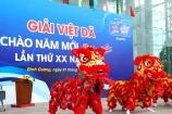 Hơn 8.000 người tham dự Giải việt dã 'Chào năm mới' tranh cúp BTV - Number 1