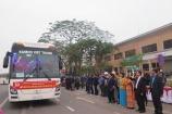 Liên đoàn Lao động Hà Nội đưa 1.600 công nhân về quê ăn Tết