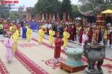 Phú Thọ: Du khách thập phương nô nức tham dự Lễ hội đền Mẫu Âu Cơ