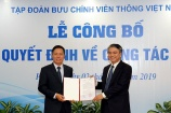 Ông Tô Dũng Thái giữ chức vụ Phó Tổng Giám đốc Tập đoàn VNPT