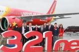 Vietjet vừa nhận tàu bay Airbus A321neo thế hệ mới