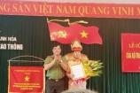Bổ nhiệm Trưởng phòng CSGT Công an tỉnh Thanh Hóa