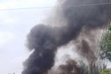 Cháy xe khách ở Đồng Nai, 1 người thiệt mạng