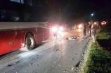 Yên Bái: Xe khách giường nằm va chạm xe máy, 2 người tử vong