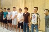 Thanh Hóa: Bắt nhóm đối tượng đe dọa thu tiền bảo kê ở Sầm Sơn