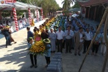 Đại lễ cầu siêu báo ân và tri ân các anh hùng liệt sỹ tại nghĩa trang Việt - Lào
