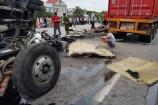 Hải Dương: 6 người bị xe tải lật đè tử vong trên quốc lộ 5