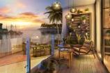 Một ngày mới trên khu phố ven biển Tuần Châu Marina