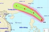Xuất hiện bão Bailu giật cấp 11 gần Biển Đông
