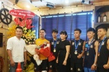 Công ty Phú Hồng Thịnh khen thưởng tinh thần thi đấu của đội tuyển Muay Thái MMA FIGHT ACADEMY