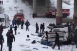 Nga: Xe buýt lao xuống sông, 19 người chết