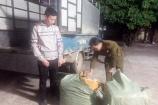 Quảng Ninh: Bắt giữ, tiêu hủy 250kg lòng lợn không rõ nguồn gốc