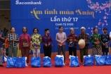 Sacombank tổ chức chương trình ấm tình mùa xuân lần thứ 17