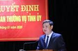 Ông Lê Anh Xuân được bầu giữ chức Bí thư Thành ủy Thanh Hóa