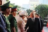Thủ tướng Nguyễn Xuân Phúc chúc Tết lực lượng vũ trang và nhân dân TP. Đà Nẵng