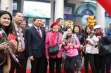 Quảng Ninh đón những vị khách đầu tiên 'xông đất' tham quan vịnh Hạ Long