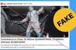 Facebook xóa tin giả về dịch bệnh do virus corona