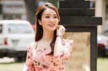 Thuỵ Vân thanh lịch như 'chị đẹp' Son Ye Jin khi làm đại sứ phòng chống bệnh lao