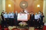 Cộng đồng doanh nhân Đài Loan tại VN tặng 3 tỷ đồng ủng hộ phòng, chống dịch Covid-19