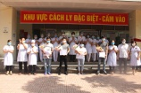 4 bệnh nhân mắc Covid-19 từ Nga về đã khỏi bệnh