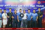 Hà Nội: Họp báo và tiến hành bốc thăm chia bảng giải bóng đá Nhâm Tuất 1982 lần thứ III
