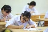 Viết, vẽ nội dung lạ vào bài thi, thí sinh có thể bị đình chỉ thi tốt nghiệp THPT