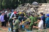 Kon Tum: Danh tính các nạn nhân trong vụ xe khách giường nằm lao xuống vực sâu