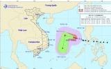 Bão Kammuri cách quần đảo Trường Sa khoảng 430km về phía Đông Bắc