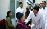 Phó Thủ tướng Vũ Đức Đam thăm bệnh nhân, bác sĩ ngày 30 Tết