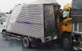 Tai nạn liên hoàn giữa 3 ô tô, cao tốc Trung Lương ùn tắc 5 km