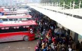 Hà Nội: Bến xe Mỹ Đình tăng cường 110 lượt xe dịp cuối năm