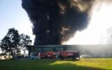 Bà Rịa – Vũng Tàu: Cháy lớn tại kho chứa bột mỳ trong KCN Phú Mỹ 1