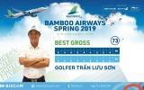 Golfer Trần Lưu Sơn vô địch giải Bamboo Airways Spring 2019