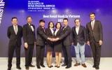 Lần thứ 5 BIDV được bình chọn là 'Ngân hàng bán lẻ tốt nhất Việt Nam'