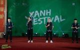 """O-plus khiến hàng nghìn học sinh vỡ òa cảm xúc với """"Bye Bye"""" tại Xanh Festival 2019"""